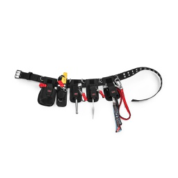 [K02027-C] Scaffolders Kit - 5 Tool Retractable (Claw Hammer Edition)